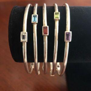 Ross Simons Sterling Silver Bracelet Set